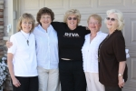 In Sept. 2009 members of Girl Scout Troop 129 met for the first time in many years. From left: Judy Kulp Zelenski, Karen