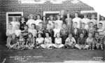 1953 - Mountain View Elementary - Fourth Grade.  Back row, left to right: Nancy Niles, Unknown, Judy Young, Judy Heberle