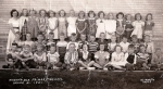 1951 - Wheat Ridge Primary School - Grade 2. Front row, left to right: Unknown, Unknown, Unknown, Unknown, Dave Eberhard