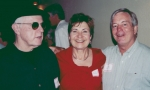 Left to right: Bill Peterson, Judy Besel Trautwine, Frank Klepetko