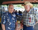 June 25, 2011 Multi-Class Picnic. Keith Watson (left) and Paul Hood.