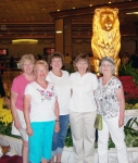 Girl Scout Troop 129 'Luxury Campout' in Las Vegas, 2010.  l-r:  Irma Johnson Princic, Barb Tanner Hightower, Karen Li