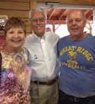 Farmers Barn Dinner: Judy Besel Trautwine, Rich Martinez and Terry Taylor.