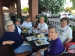 Scout troop 129 out for dinner after the Rockies spring training game in Arizona 2015.  Windy Elliott, Irma Johnson Prin